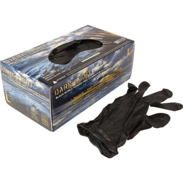 Black Nitrile Exam Gloves